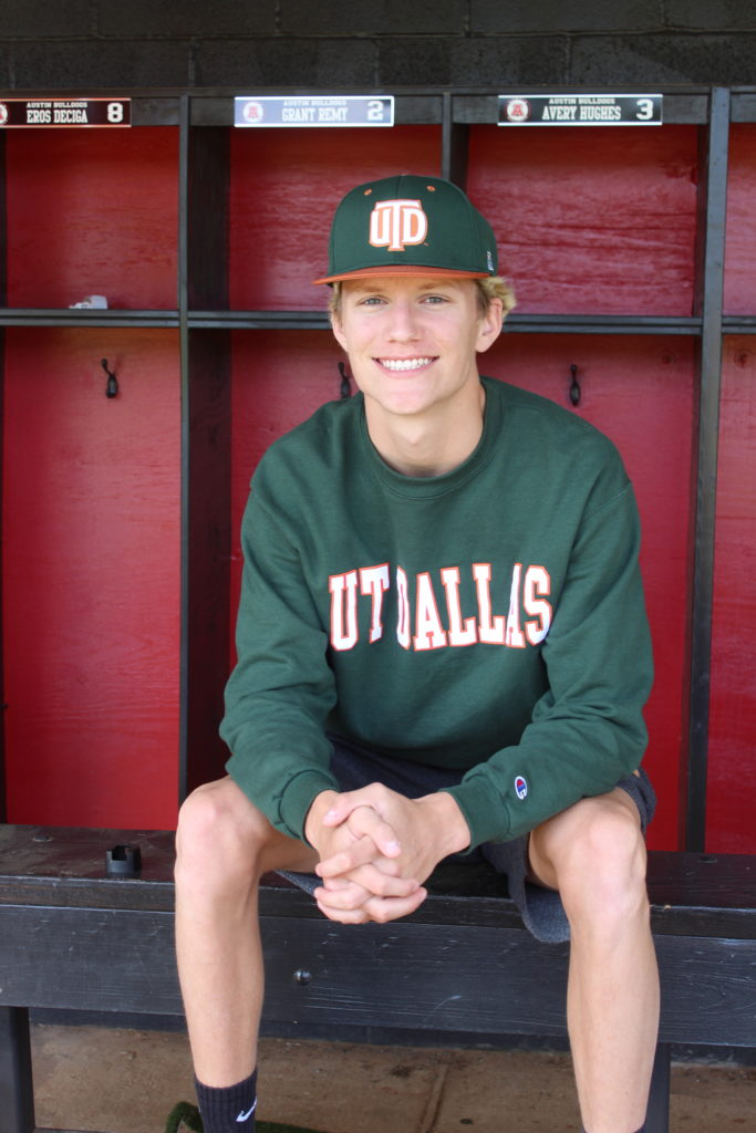 Grant Remy - University of Texas Dallas Baseball 2020